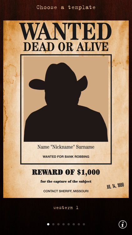 Wanted Poster Pro screenshot-0