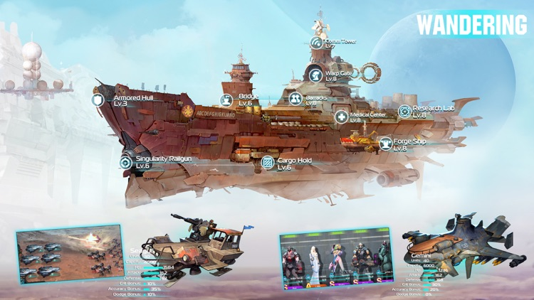 Ark of War:Galaxy Pirate Fleet screenshot-6
