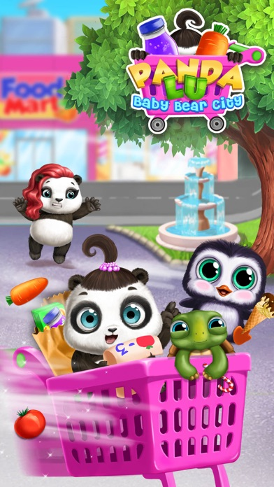 Panda Lu Baby Bear City No Ads screenshot 3
