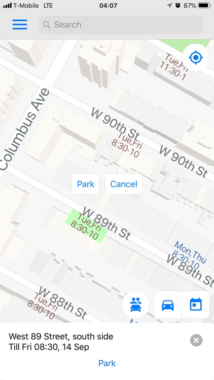 FreePark NYC - Parking in NY screenshot-3