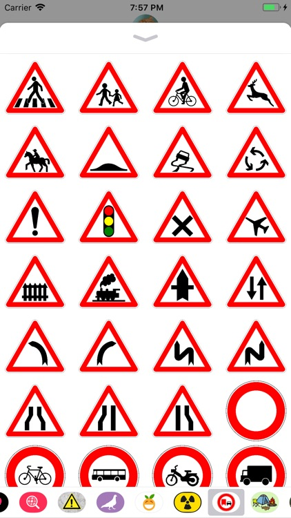 Traffic Signs Stickers!