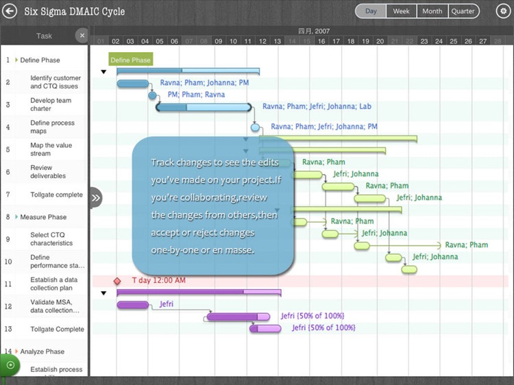 Gantt Charts- Project Timeline screenshot-3