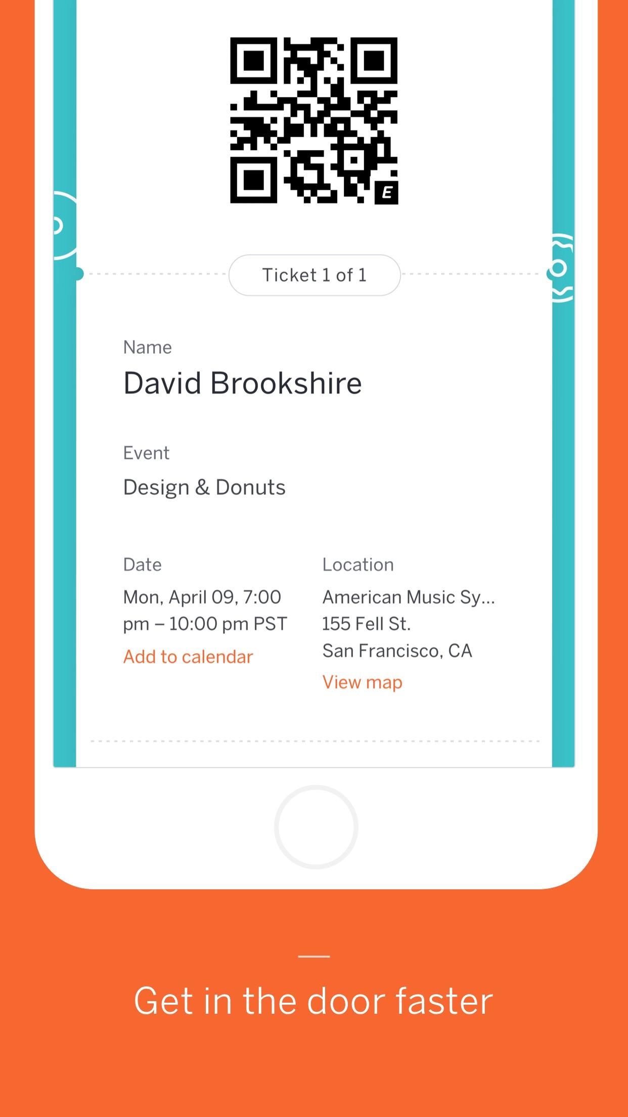 Eventbrite Screenshot