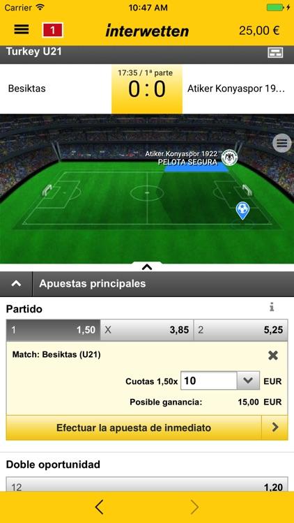Interwetten Apuestas Deportes screenshot-4