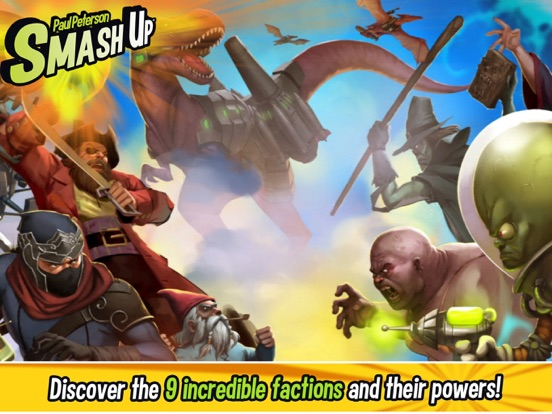 Smash Up - The Card Game на iPad