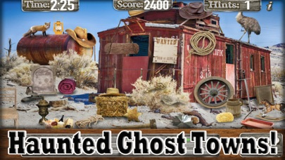 download Hidden Objects Ghost Town Time apps 3