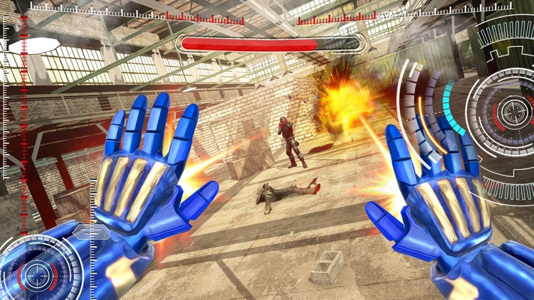 Superhero FPS Shooter Games