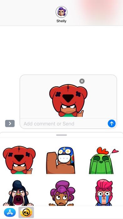 Screenshot #1 pour Emojis animés de Brawl Stars