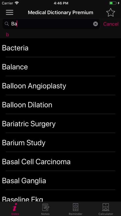 Medical Dictionary Premium screenshot-2
