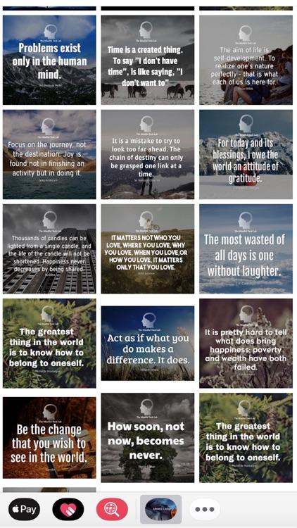 Mindful Quote Sticker Pack screenshot-3