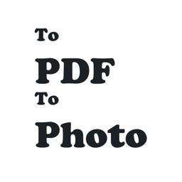 Web To Pdf File & To Photo