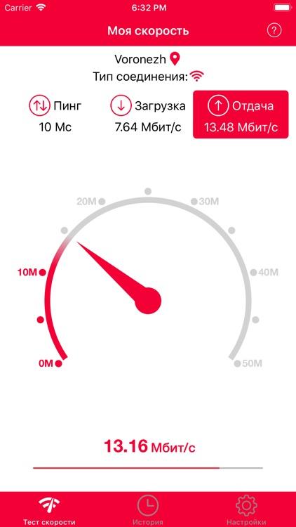 Speed test by INLAB