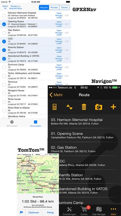 GPX2Nav Route Converter screenshot-4