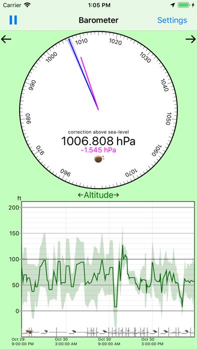 点击获取Barometer - weather logger