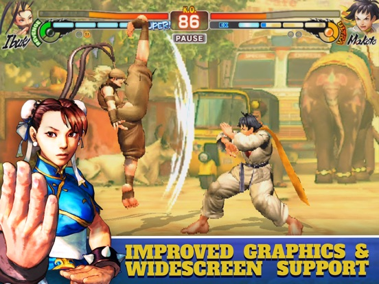 Screenshot #3 for Street Fighter IV CE