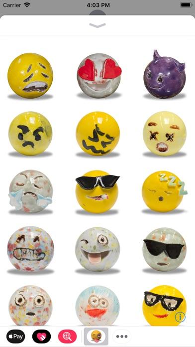 Screenshot #1 pour Emojis by Laura Owens