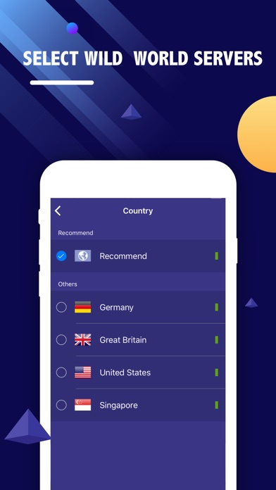 VPN Ship-Unlimited VPN Proxy Screenshots