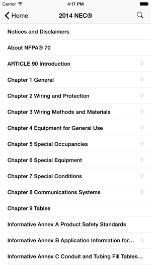 NEC 2014 Edition on the App Store
