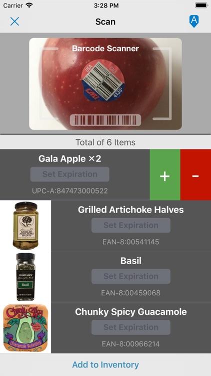 Pantry Check - Grocery List screenshot-4