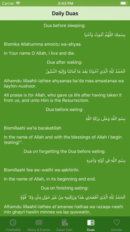 Prayer Time Alrisaalah Masjid screenshot-3