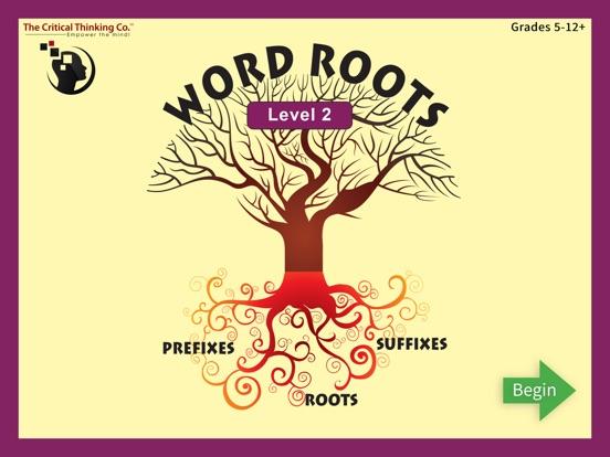 Word Roots Level 2 screenshot 1