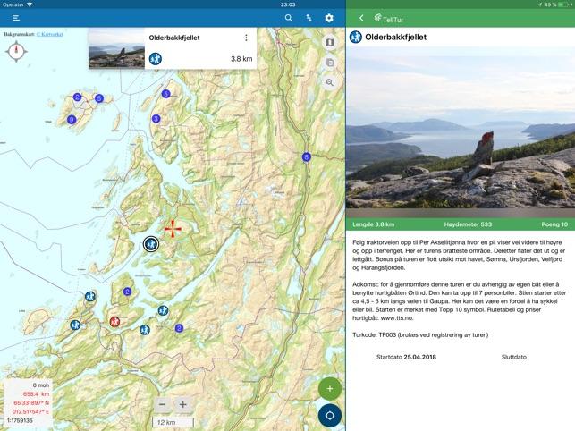 Norgeskart Friluftsliv On The App Store