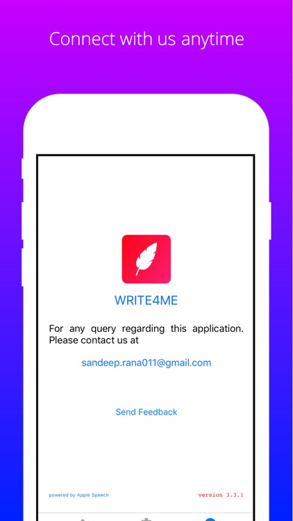 Write4Me - Write text by voice screenshot-4