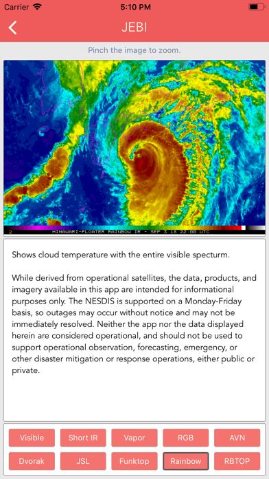 Typhoon Tracker (台風 태풍 台风) screenshot 1