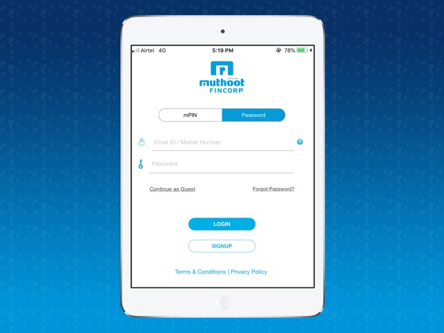 Muthoot Blue on the App Store