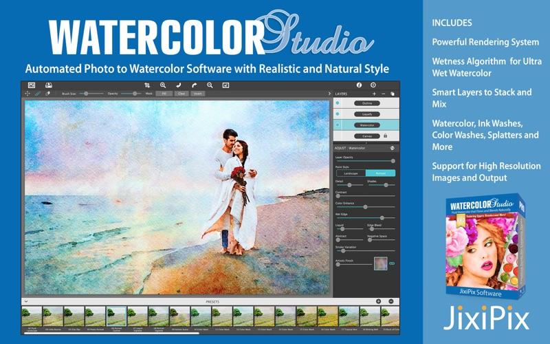 Watercolor Studio Screenshots