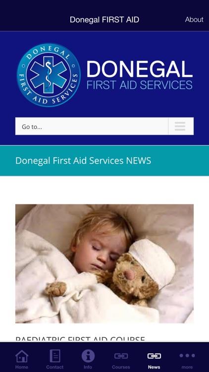 Donegal FIRST AID screenshot-3