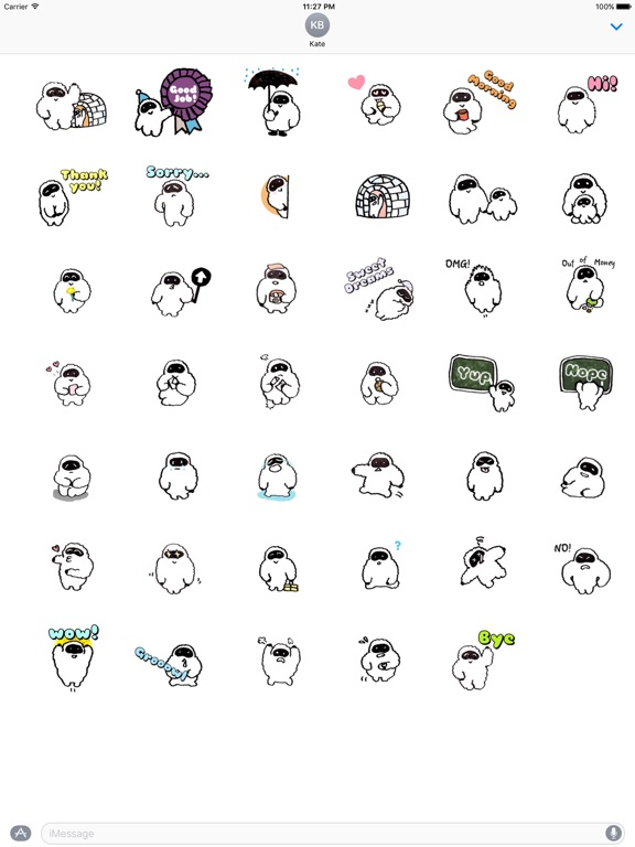 Yetimoji - Yeti Emoji Sticker screenshot 4