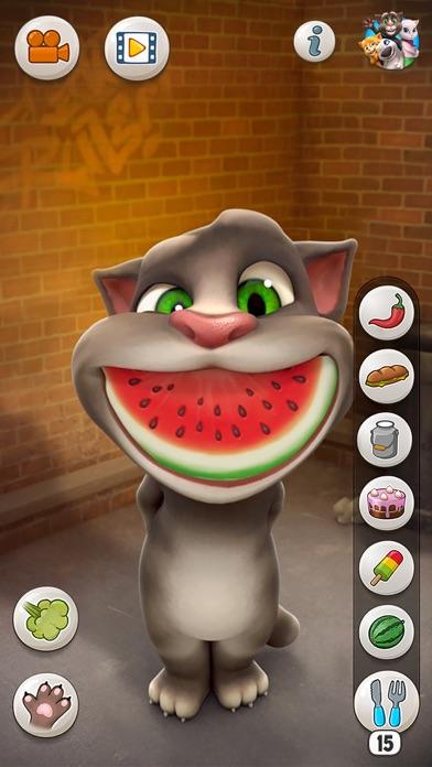 おしゃべり猫のトーキング・トムスクリーンショット2