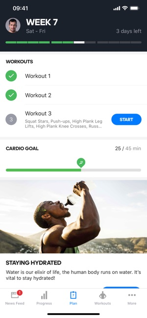 Runtastic Results Exercise App on the App Store