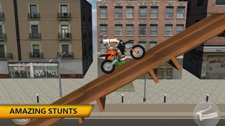 Motorbike Stunt: Street Drivin
