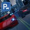 晚市交通汽车停车驾驶模拟器