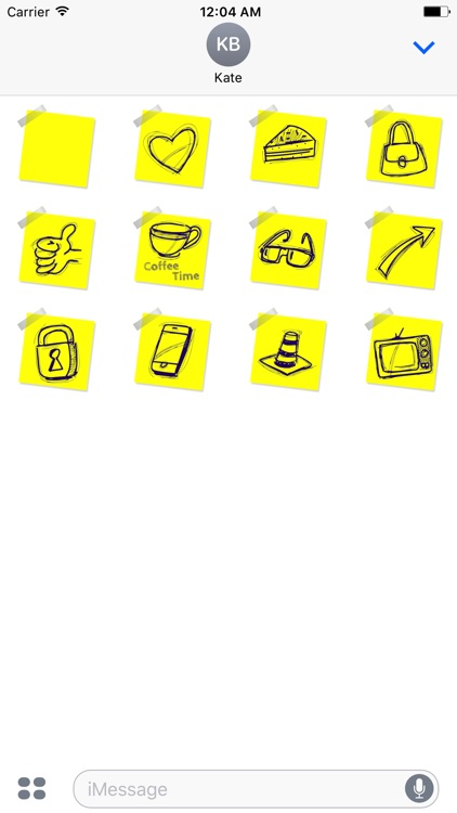 Chat Stickies: Sticky notes for your messages