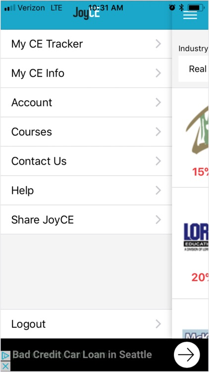 JoyCE - Continuing Ed Tracker screenshot-3