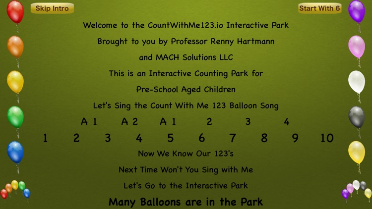CountWithMe Interactive Park