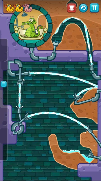 Screenshot for Where's My Water? in Brazil App Store