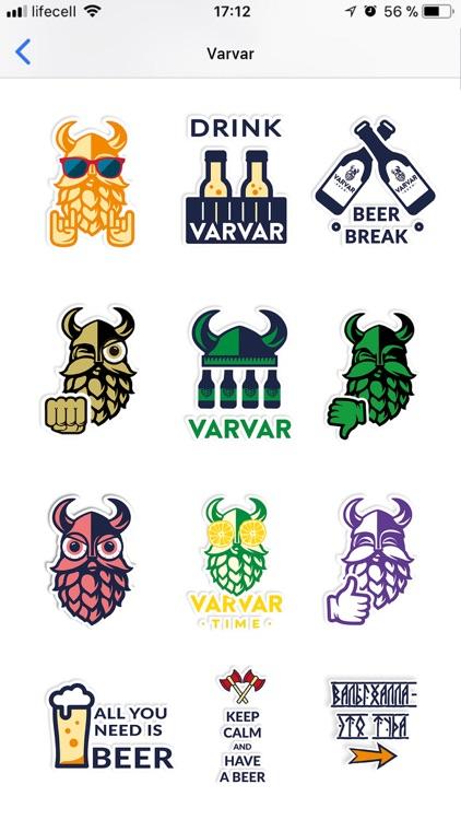 VARVAR Stickers