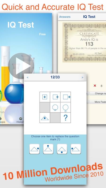 IQ Test Classic - Online Game Hack and Cheat | Gehack com