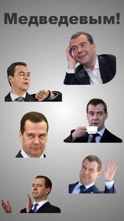 Дмитрий Медведев Stickers