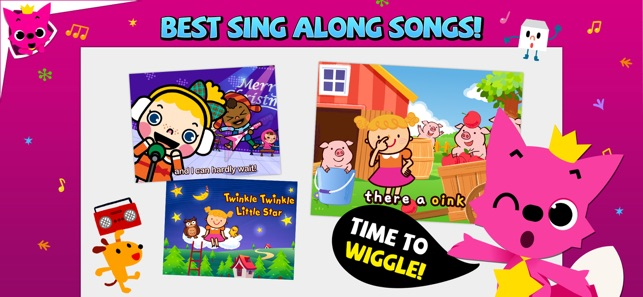 Pinkfong Songs & Stories on the App Store
