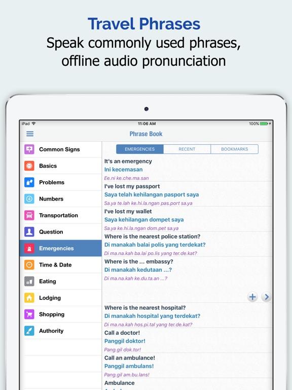 Malay Dictionary + iPad
