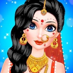 Indian Doll Wedding Girl Salon