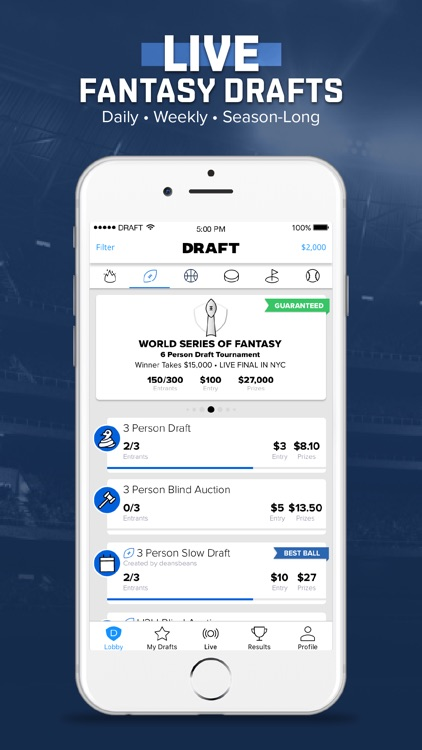DRAFT: Daily Fantasy Football
