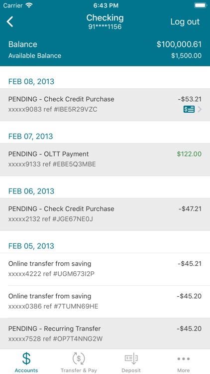 TVFCU Online24 Mobile screenshot-3