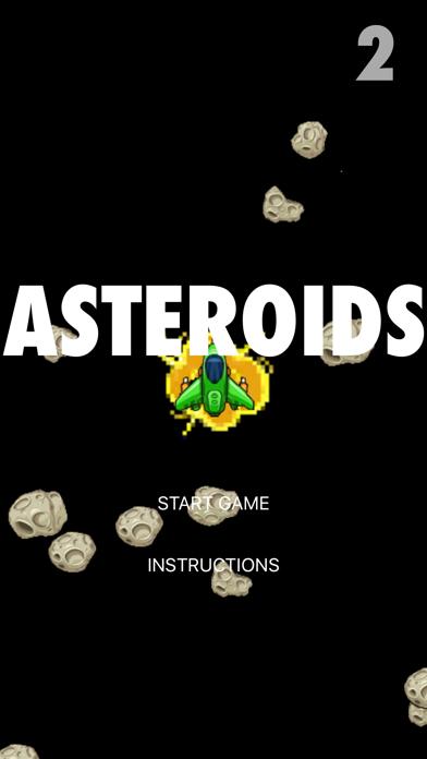 Asteroids Attack screenshot one