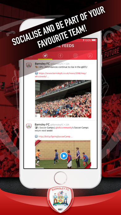 Barnsley FC Fan App screenshot four